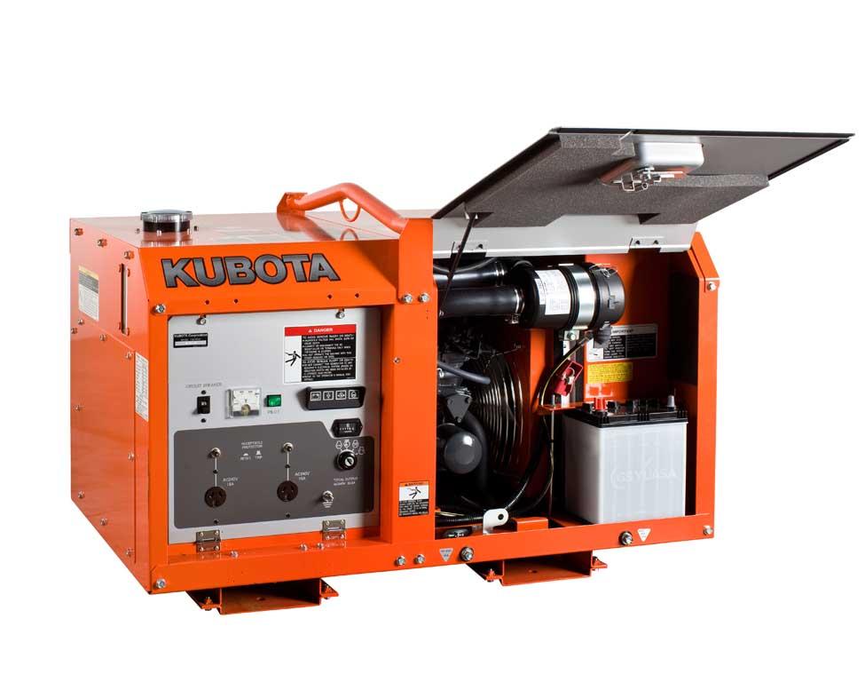 Дизельный генератор (электростанция) Kubota GL9000