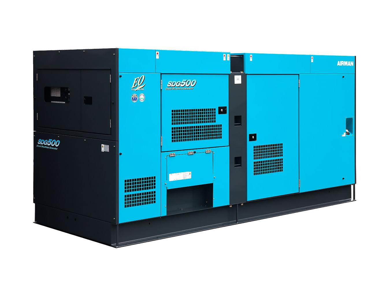 Дизельный генератор (электростанция) AIRMAN SDG500S