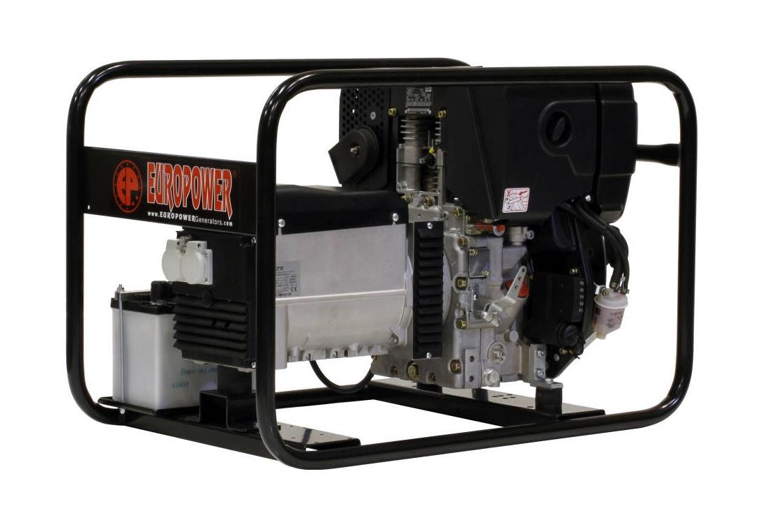 Дизельный генератор (электростанция) Europower EP 6000 DE