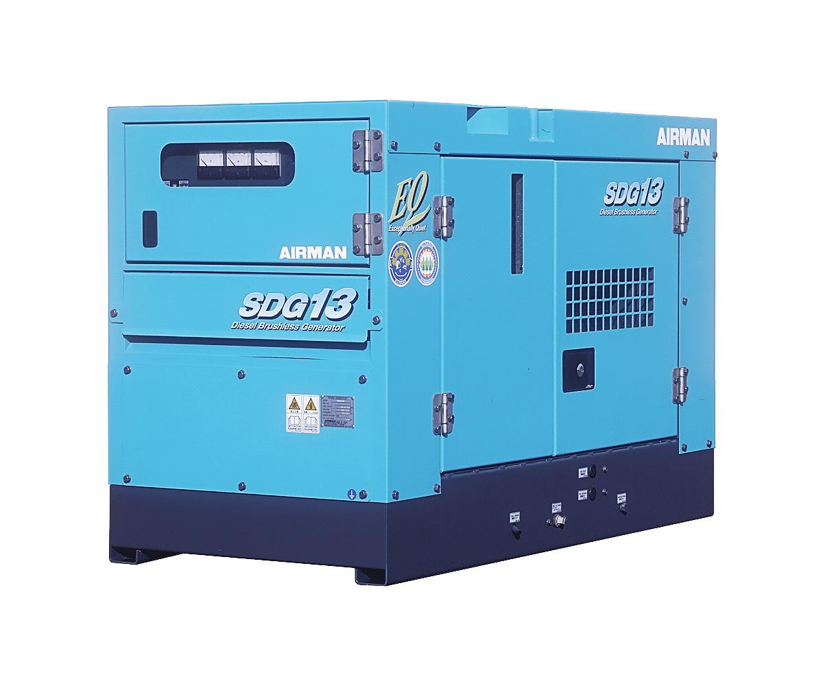 Дизельный генератор (электростанция) AIRMAN SDG13S