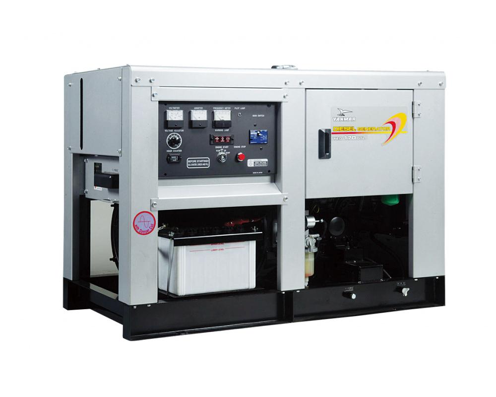 Дизельный генератор (электростанция) Yanmar YEG170DSLC-5B