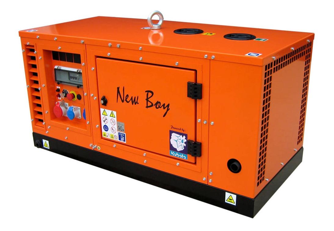 Дизельный генератор (электростанция) Europower EPS 133 TDE