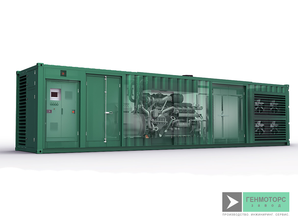 Газопоршневая электростанция (ГПУ) PowerLink GXE100NG