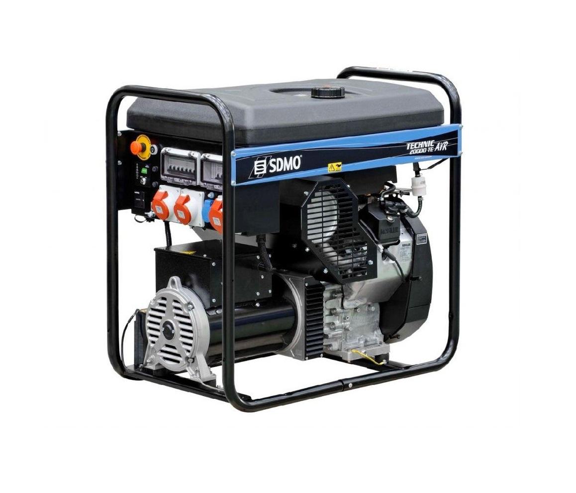 Бензиновый генератор (Бензогенератор) SDMO TECHNIC 20000 TE AVR C