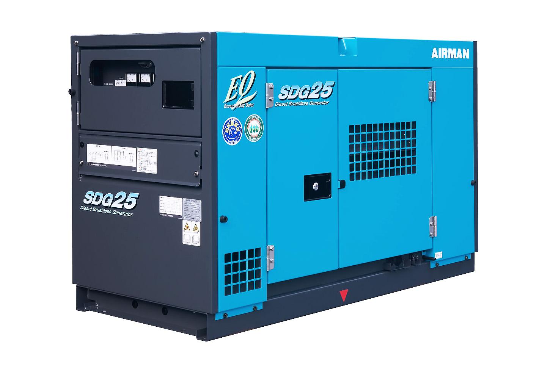 Дизельный генератор (электростанция) AIRMAN SDG25S