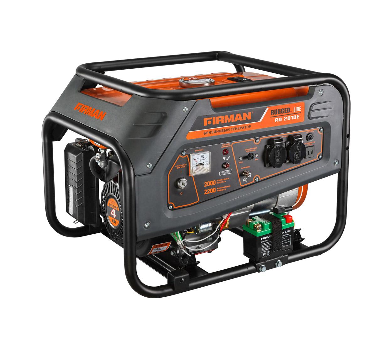 Бензиновый генератор (Бензогенератор) Firman RD2910E