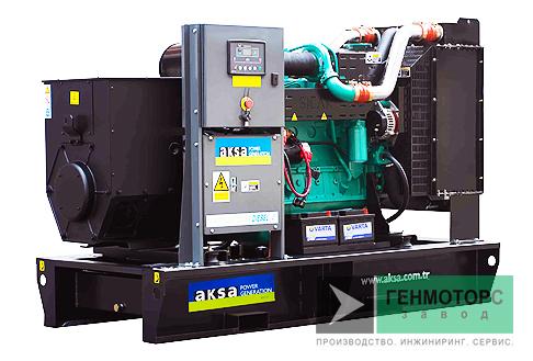 Дизельный генератор (электростанция) AKSA APD145C