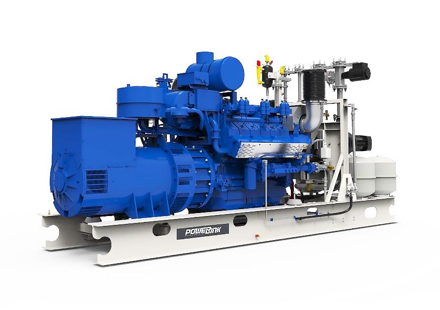 Газопоршневая электростанция (ГПУ) PowerLink TGE1200-NG