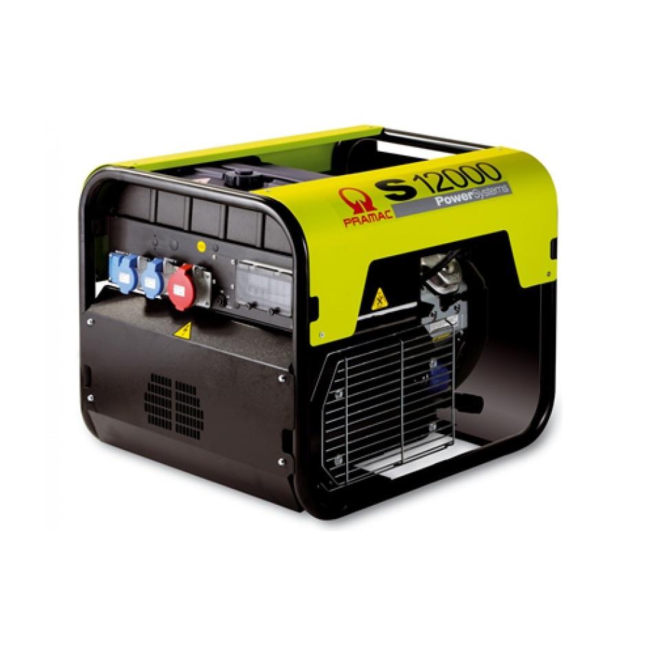 Бензиновый генератор (Бензогенератор) Pramac S12000, 230V, 50Hz #CONN