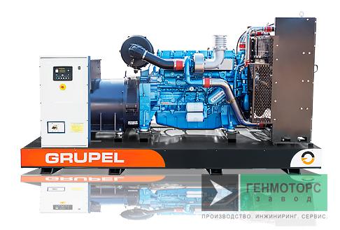 Дизельный генератор (электростанция) G495BDGR Grupel