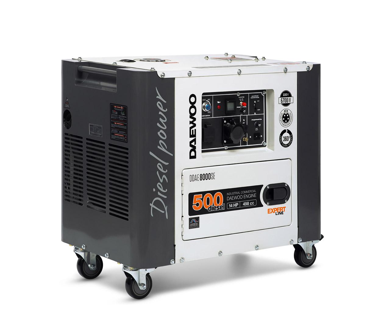 Дизельный генератор (электростанция) DAEWOO DDAE 8000SE