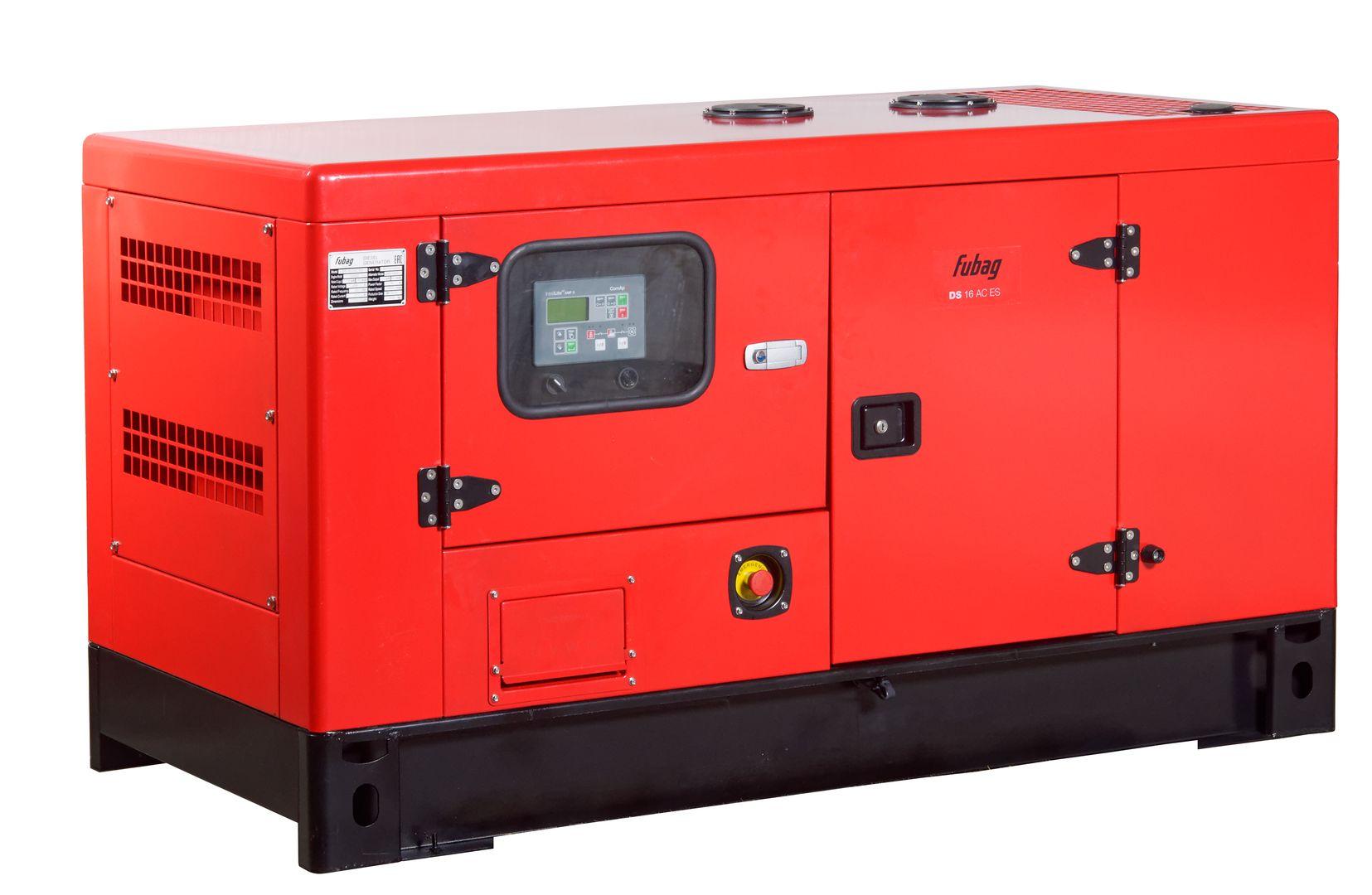 Дизельный генератор (электростанция) FUBAG DS 16 AC ES