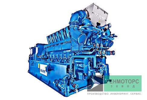 Газопоршневая электростанция (ГПУ) MWM TCG 2032 V12