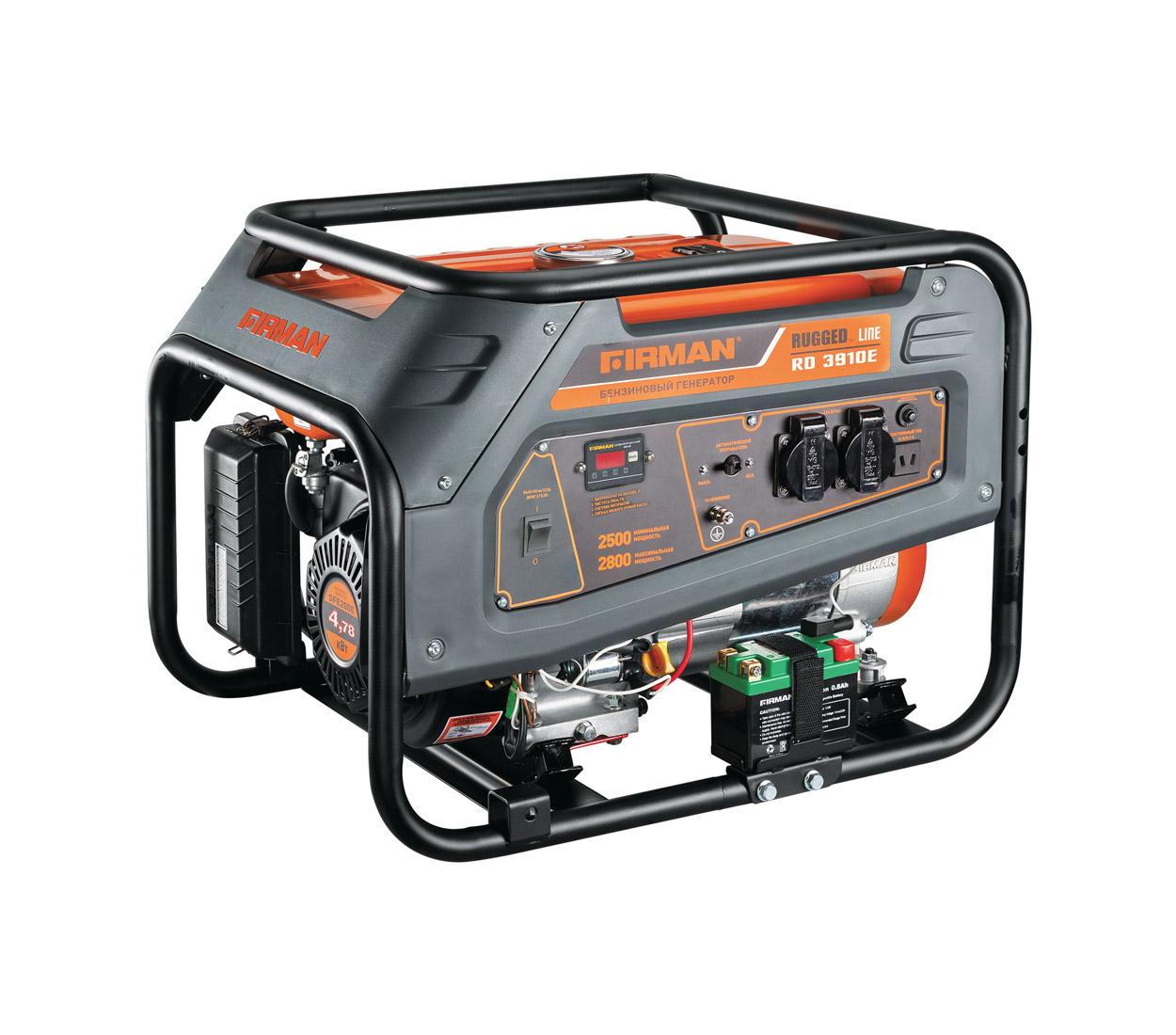 Бензиновый генератор (Бензогенератор) Firman RD3910E