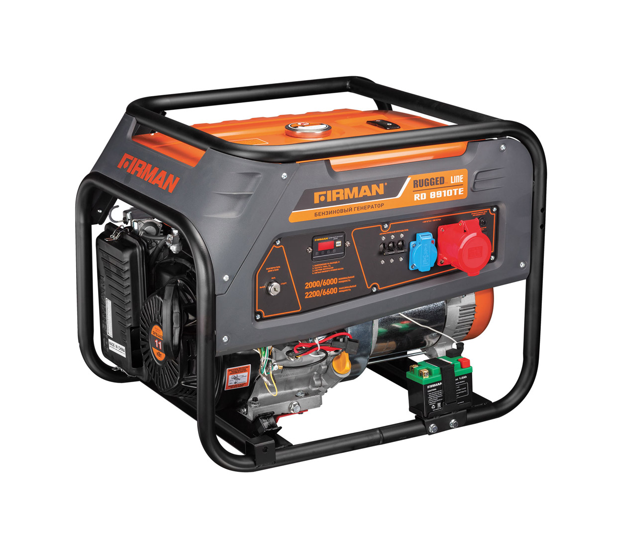 Бензиновый генератор (Бензогенератор) Firman RD8910TE