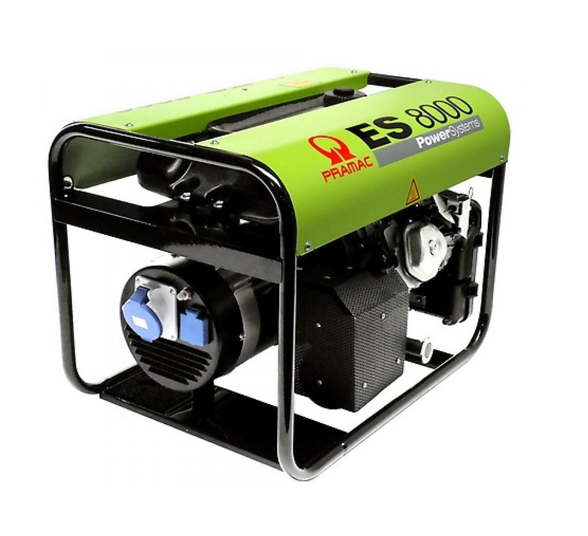 Бензиновый генератор (Бензогенератор) Pramac ES8000, 400/230V, 50Hz