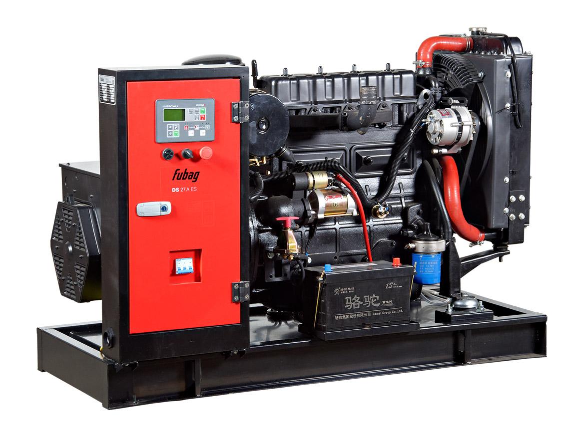 Дизельный генератор (электростанция) FUBAG DS 27 A ES