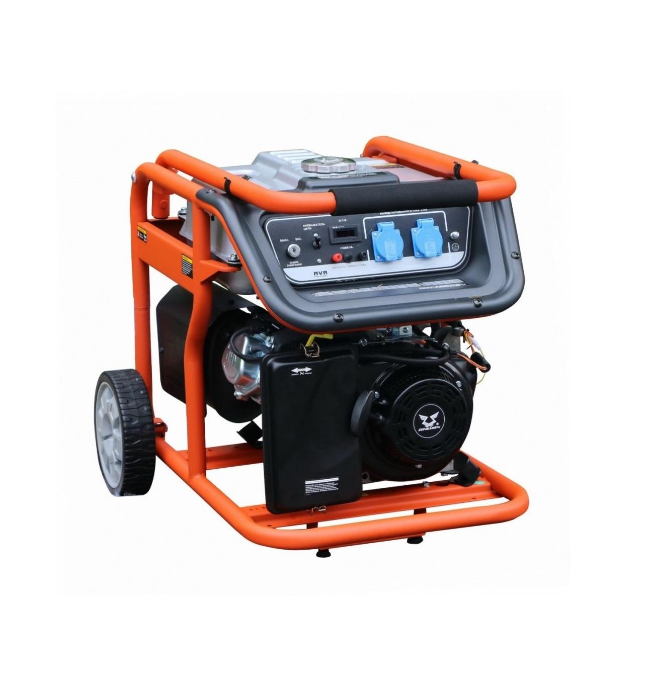 Бензиновый генератор (Бензогенератор) Zongshen KB 6000