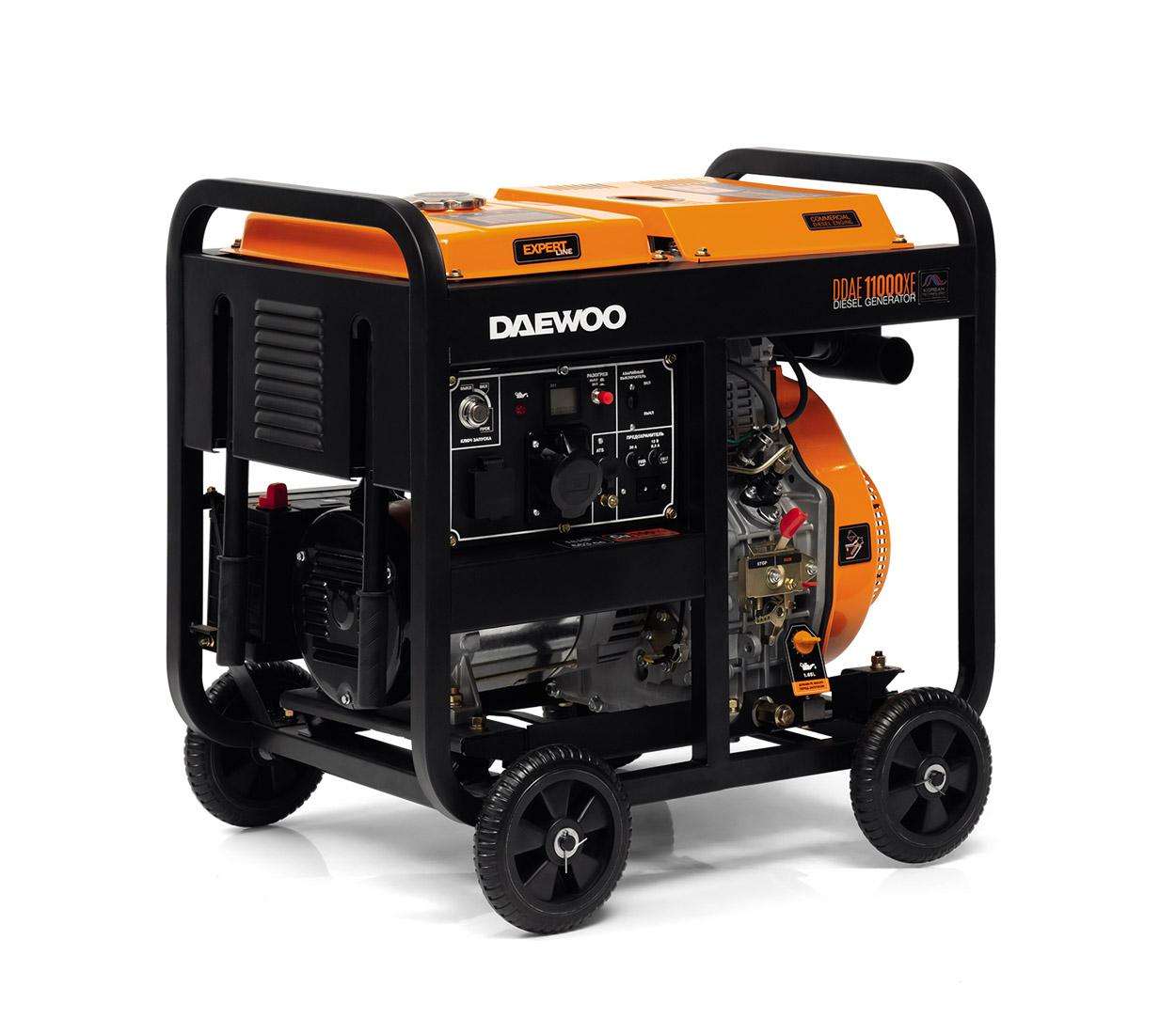 Дизельный генератор (электростанция) DAEWOO DDAE 11000XE