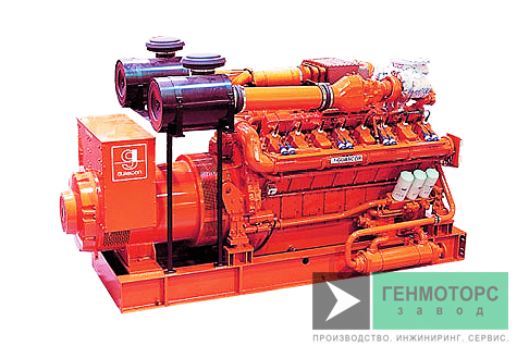Газопоршневая электростанция (ГПУ) Guascor SFGLD180