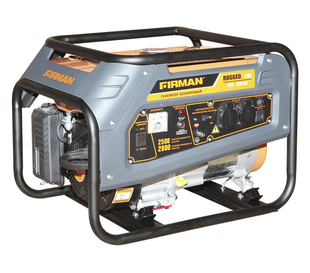 Бензиновый генератор (Бензогенератор) Firman RD3910