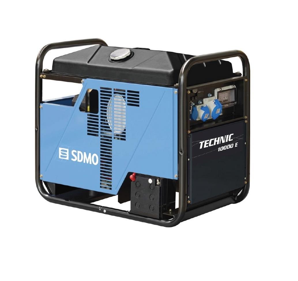 Бензиновый генератор (Бензогенератор) SDMO TECHNIC 10000 E