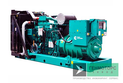 Дизельный генератор (электростанция) Cummins C900D5