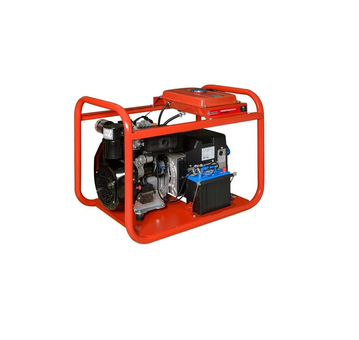 Дизельный генератор (электростанция) ВЕПРЬ АДП 12-230 ВЛ-БС
