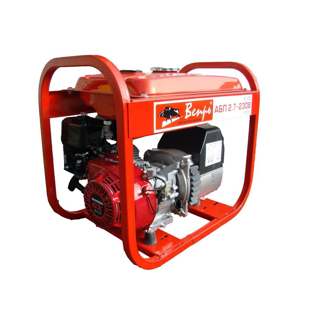 Бензиновый генератор (Бензогенератор) Вепрь АБП 2,7-230 ВХ-Б