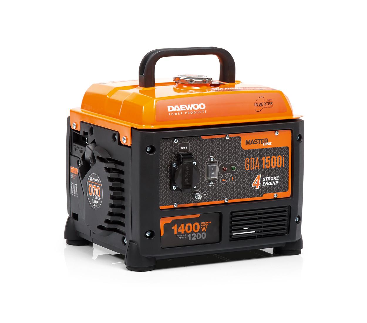 Бензиновый генератор (Бензогенератор) DAEWOO GDA 1500i