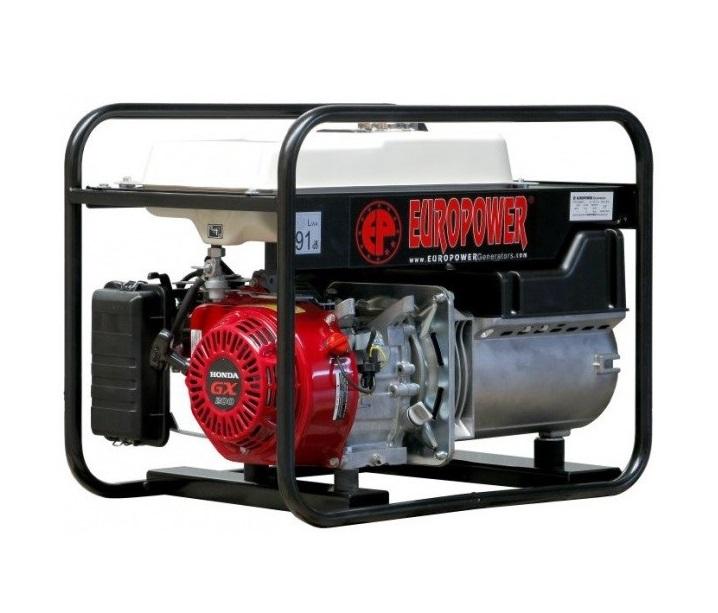 Бензиновый генератор (Бензогенератор) Europower EP 3300