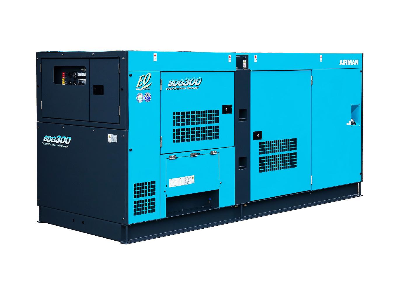 Дизельный генератор (электростанция) AIRMAN SDG300S