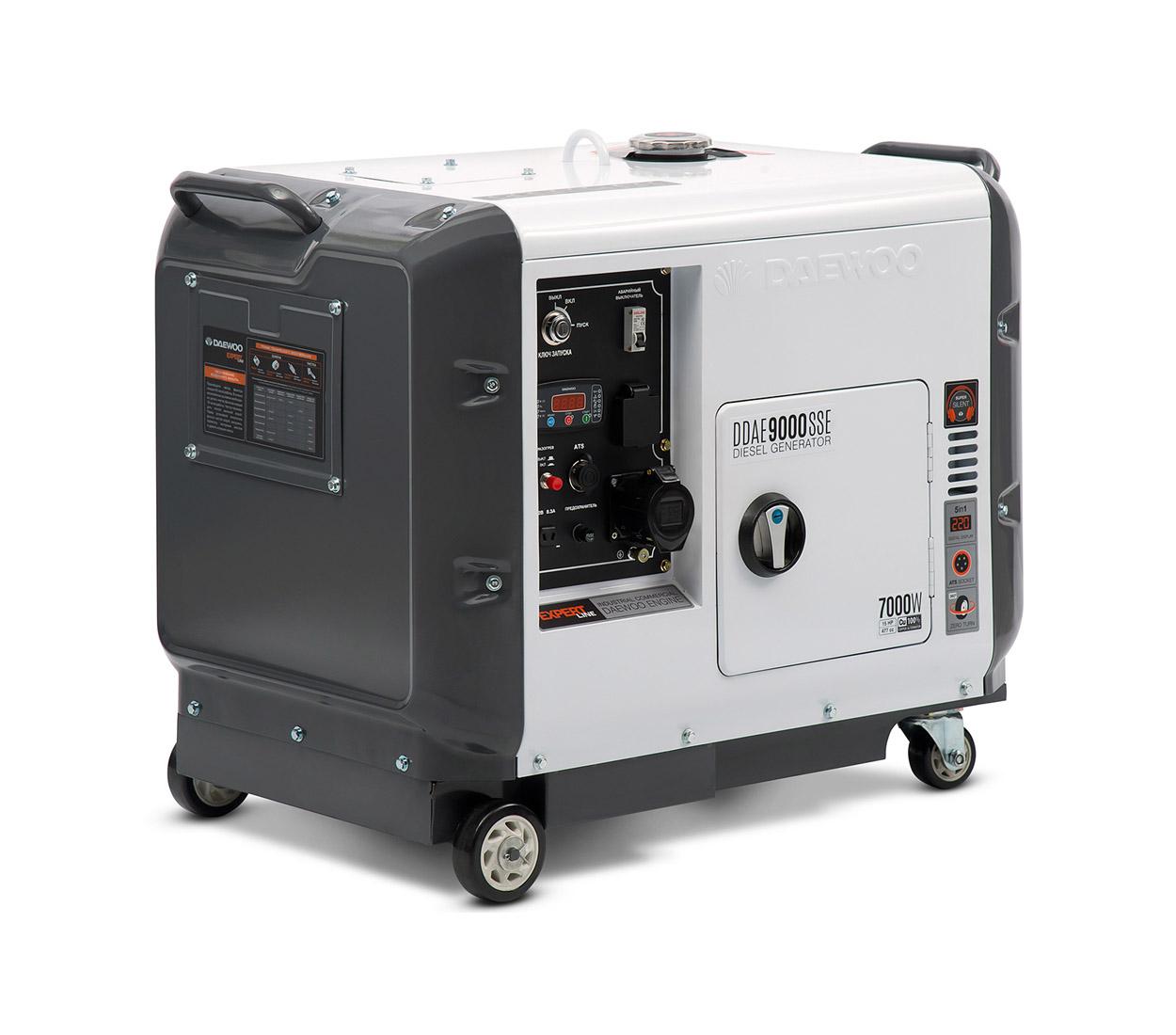 Дизельный генератор (электростанция) DAEWOO DDAE 9000SSE