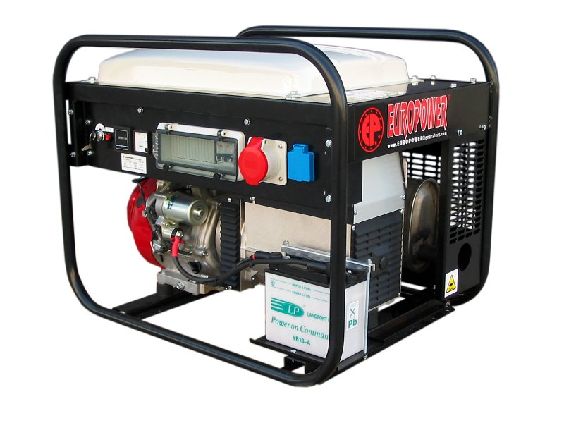 Бензиновый генератор (Бензогенератор) Europower EP 6500 TE