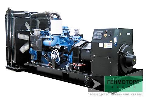 Дизельный генератор (электростанция) Gesan DTA 860E