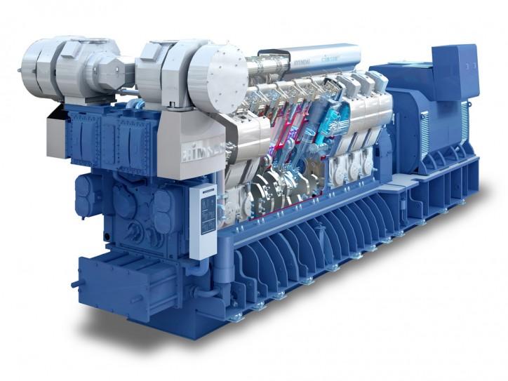 Газопоршневая электростанция (ГПУ) Hyundai HiMSEN 6H35DF